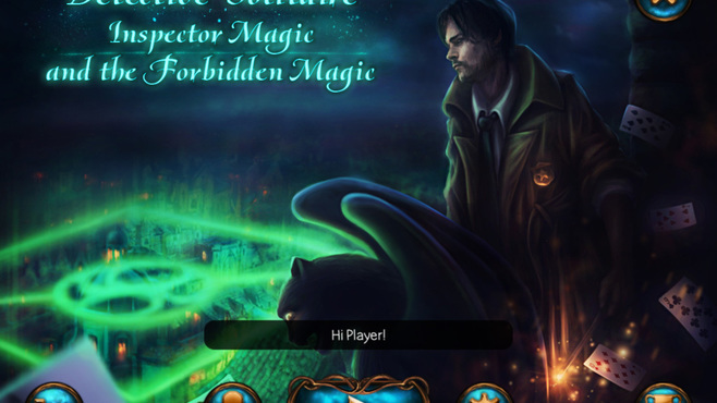 Detective Solitaire Inspector Magic and the Forbidden magic Screenshot 1