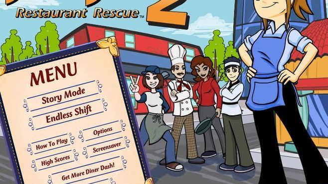 Diner Dash 2: Restaurant Rescue Screenshot 1