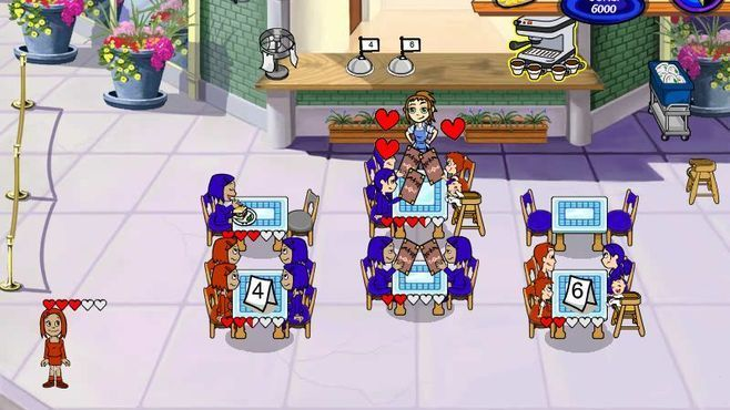 Diner Dash 2: Restaurant Rescue Screenshot 2