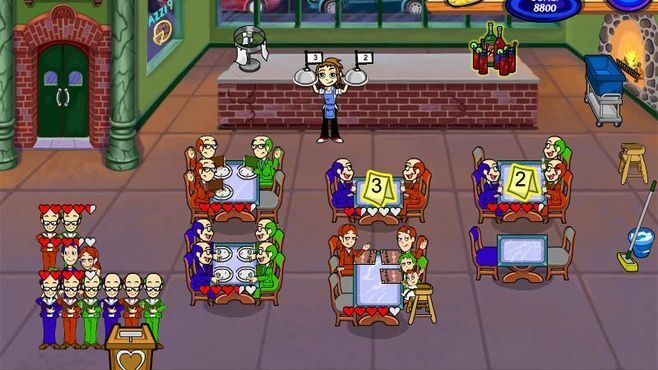 Diner Dash 2: Restaurant Rescue Screenshot 4