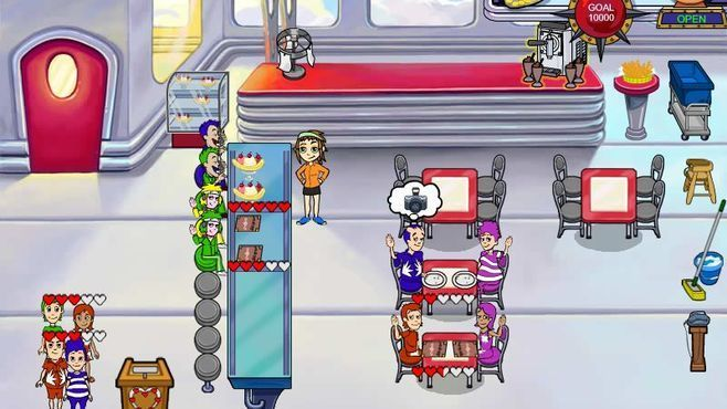 Diner Dash - Flo On The Go Screenshot 5