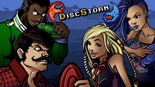 DiscStorm Screenshot 1