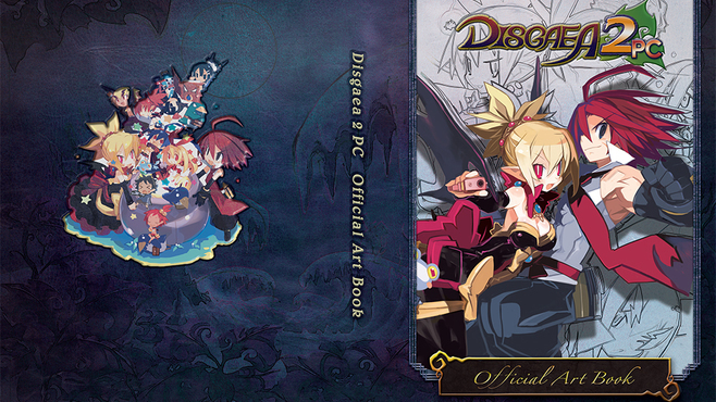 Disgaea 2 PC - Digital Art Book Screenshot 3