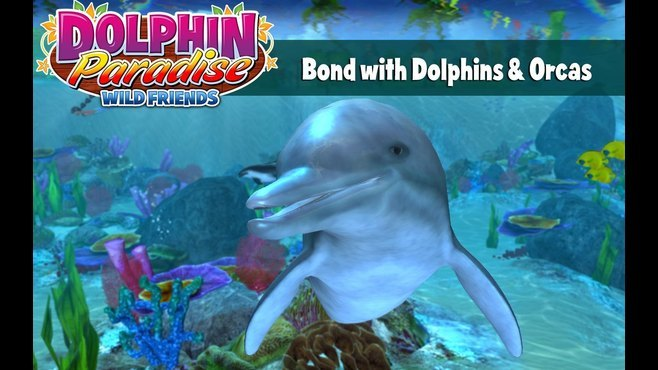 Dolphin Paradise: Wild Friends Screenshot 2