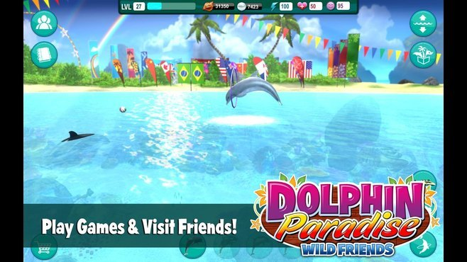 Dolphin Paradise: Wild Friends Screenshot 3