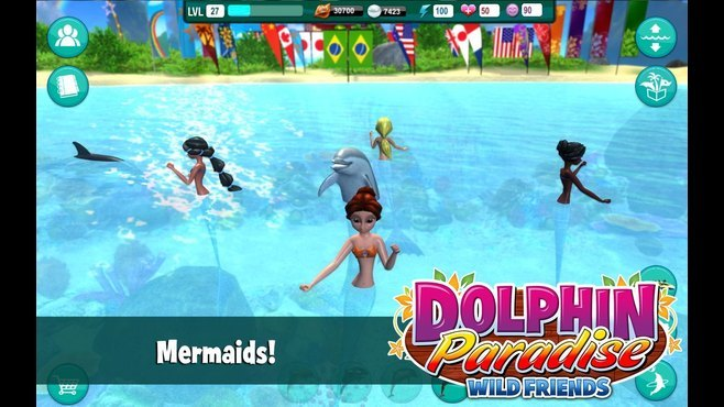 Dolphin Paradise: Wild Friends Screenshot 4