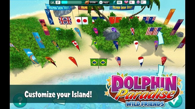 Dolphin Paradise: Wild Friends Screenshot 5