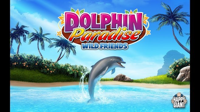 Dolphin Paradise: Wild Friends Screenshot 1