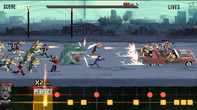 Double Kick Heroes Screenshot 2