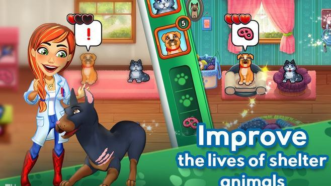 Dr. Cares - Amy's Pet Clinic Collector's Edition Screenshot 1