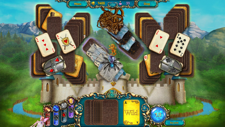 Dreamland Solitaire: Dark Prophecy Collector's Edition Screenshot 1