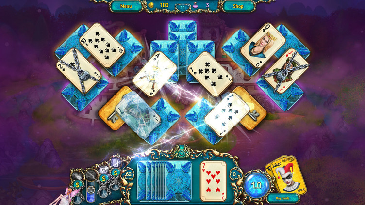 Dreamland Solitaire: Dark Prophecy Collector's Edition Screenshot 3