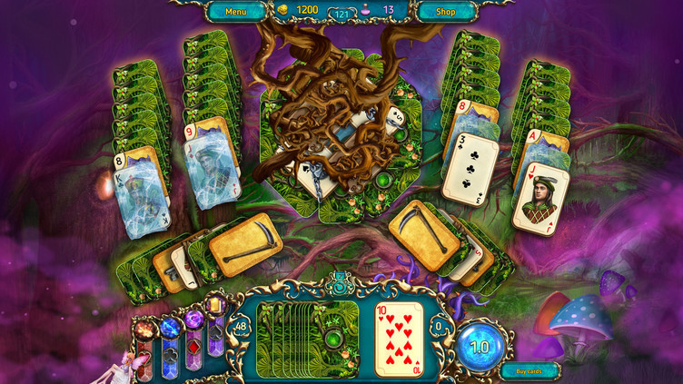 Dreamland Solitaire: Dark Prophecy Collector's Edition Screenshot 7