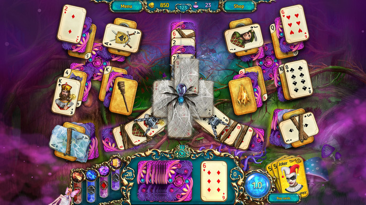 Dreamland Solitaire: Dark Prophecy Collector's Edition Screenshot 8