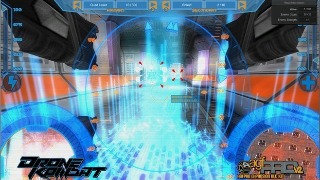 Axis Game Factory's AGFPRO Drone Kombat FPS Multiplayer DLC Screenshot 2