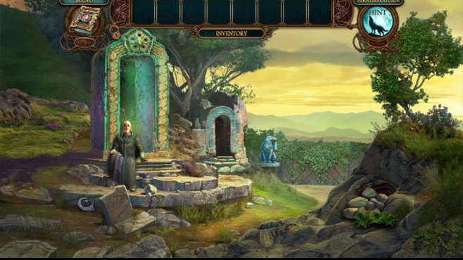 Echoes of the Past: Wolf Healer Collector's Edition Screenshot 2