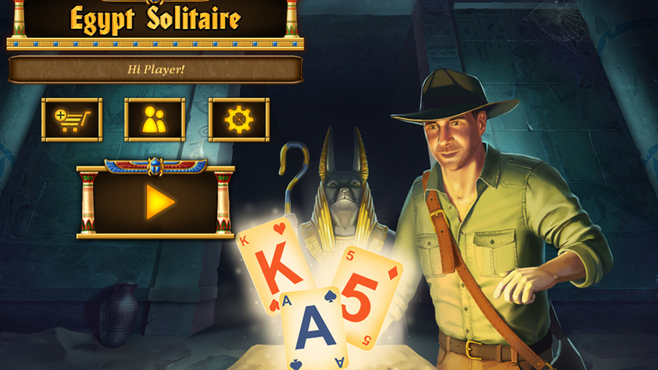 Egypt Solitaire Match 2 Cards Screenshot 1
