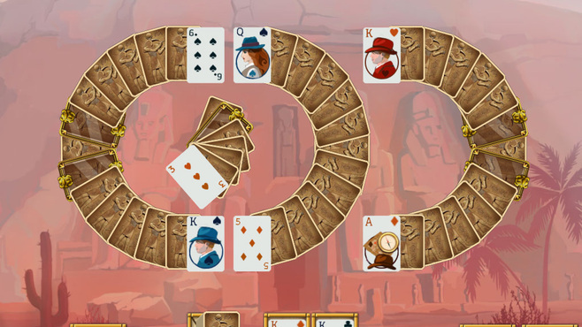 Egypt Solitaire Match 2 Cards Screenshot 2