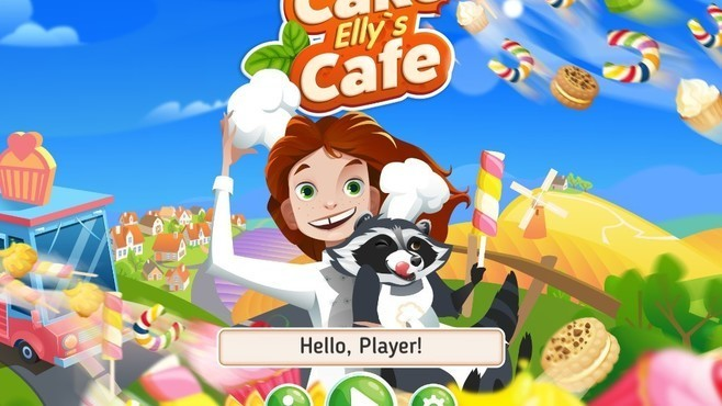 Elly's Cake Cafe Screenshot 1