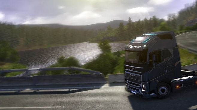 Euro Truck Simulator 2 - Scandinavia Screenshot 1