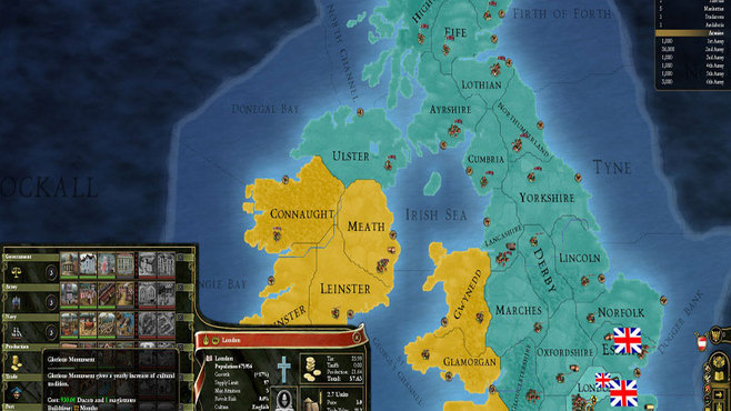Europa Universalis III Chronicles Screenshot 1