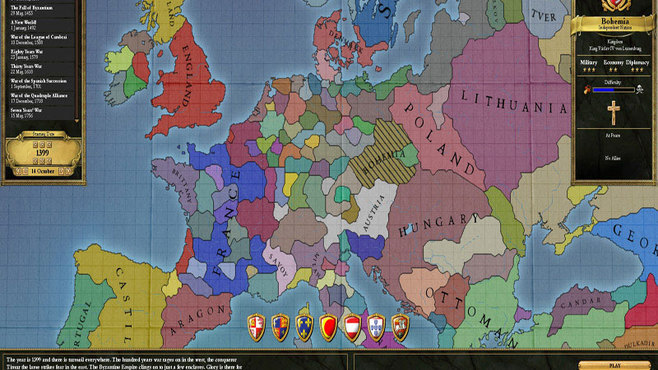 Europa Universalis III Chronicles Screenshot 4