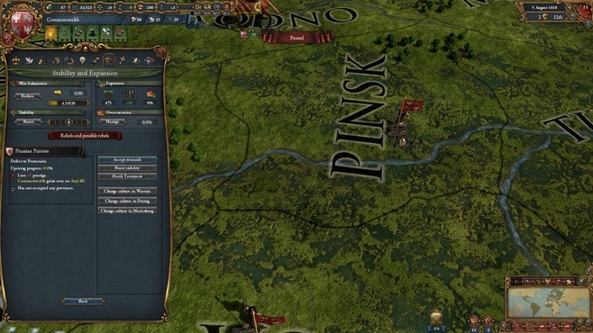 Europa Universalis IV: Art of War Screenshot 4