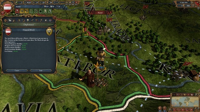 Europa Universalis IV: Art of War Screenshot 5