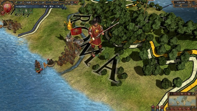 Europa Universalis IV: Evangelical Union Unit Pack Screenshot 1