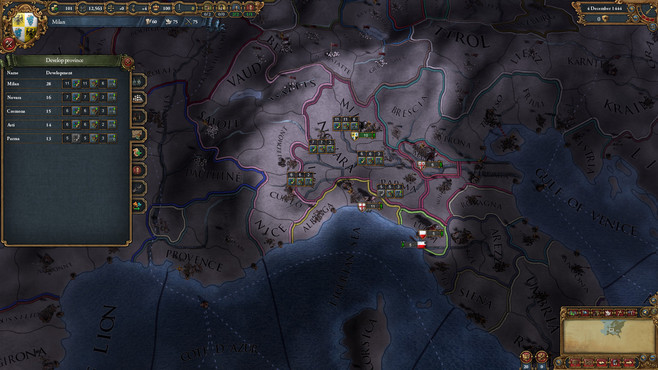 Europa Universalis IV: Common Sense Content Pack Screenshot 2