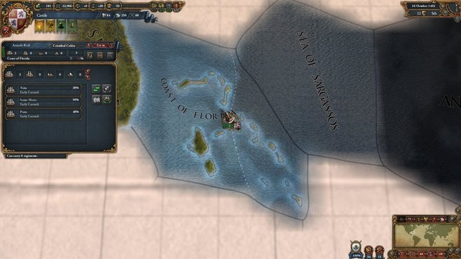 Europa Universalis IV: Conquest of Paradise Screenshot 4