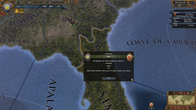Europa Universalis IV: Conquest of Paradise Screenshot 5