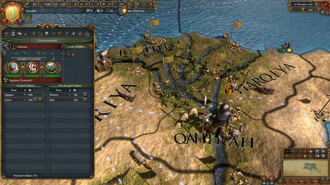 Europa Universalis IV: Cradle of Civilization Collection Screenshot 4