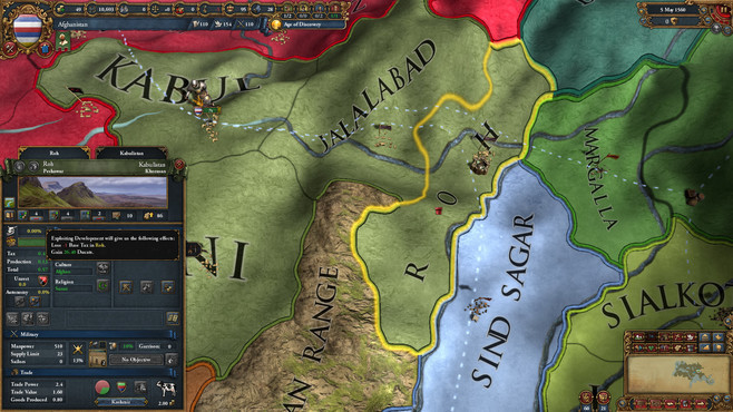 Europa Universalis IV: Cradle of Civilization Collection Screenshot 6