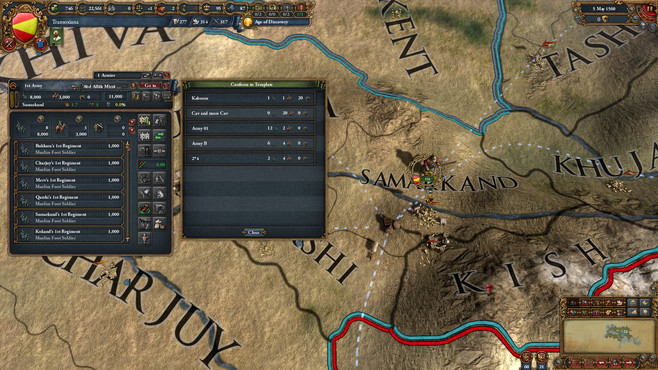 Europa Universalis IV: Cradle of Civilization Collection Screenshot 7