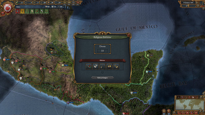 Europa Universalis IV: El Dorado Collection Screenshot 7