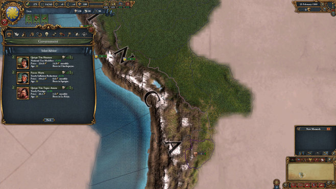 Europa Universalis IV: El Dorado Collection Screenshot 9