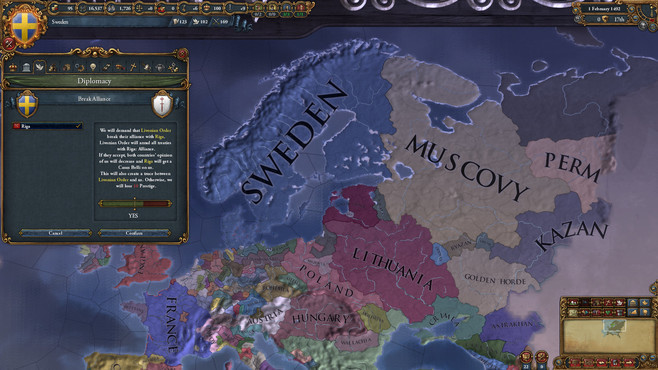 Europa Universalis IV: Rights of Man Collection Screenshot 1