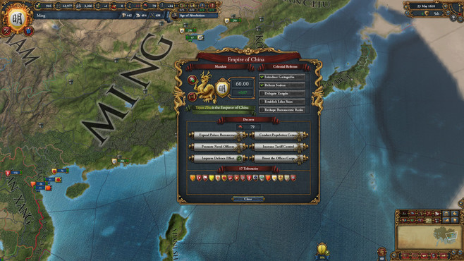 Europa Universalis IV: Mandate of Heaven Screenshot 1