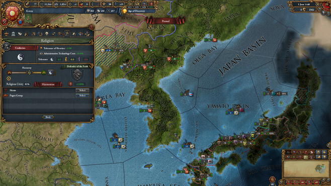Europa Universalis IV: Mandate of Heaven Screenshot 4