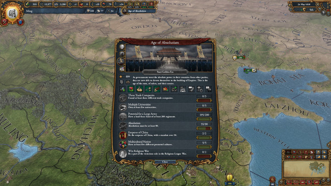 Europa Universalis IV: Mandate of Heaven Screenshot 6