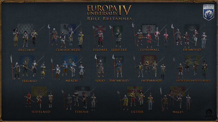 Europa Universalis IV: Rule Britannia Immersion Pack Screenshot 2