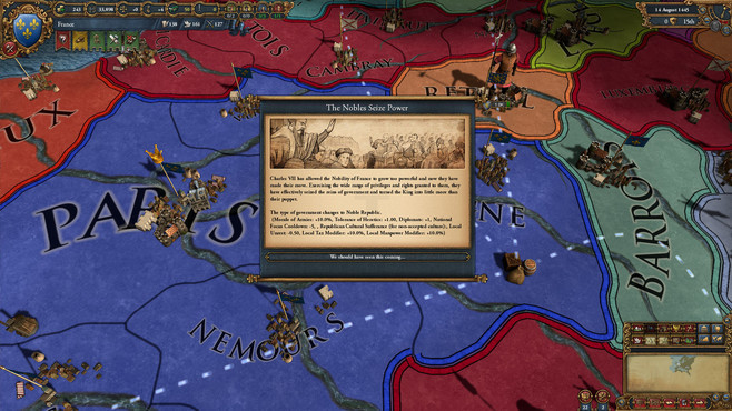 Europa Universalis IV: The Cossacks Screenshot 5