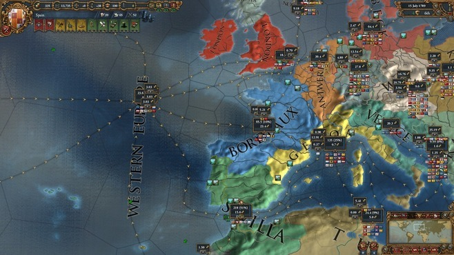 Europa Universalis IV: Wealth of Nations Screenshot 6