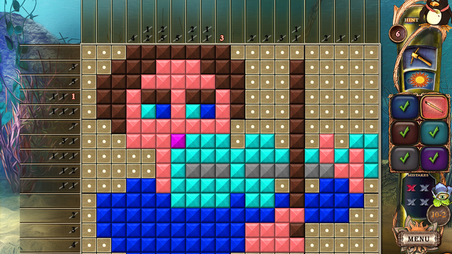 Fantasy Mosaics 18: Explore New Colors Screenshot 2