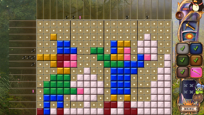 Fantasy Mosaics 20: Castle of Puzzles Screenshot 3