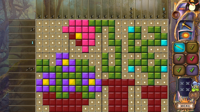 Fantasy Mosaics 20: Castle of Puzzles Screenshot 4