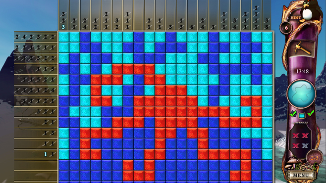 Fantasy Mosaics 4: Art of Color Screenshot 2