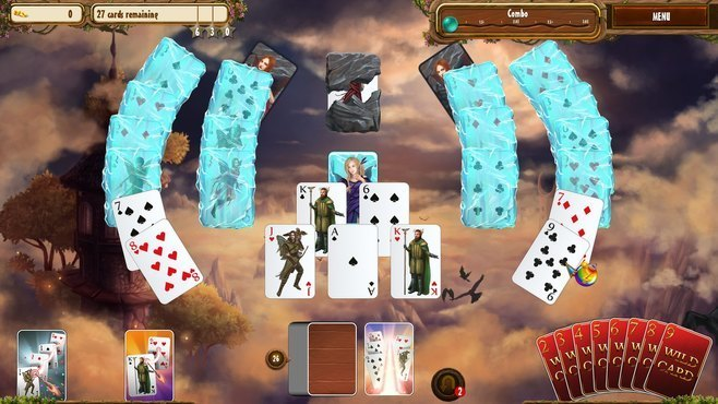 Fantasy Quest Solitaire Screenshot 9