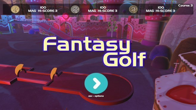 FantasyGolf Screenshot 1